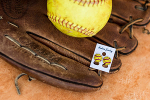 Softball Gifts Earrings for Girls Women Player - Daisy Lane Company