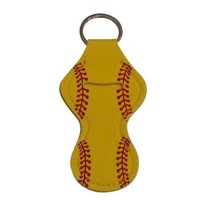 Softball Gifts for Girls Lip Balm Keychains for Softball Team - Daisy Lane Company