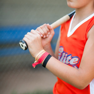 Softball Themed Hair Tie Set for Girls Team - Daisy Lane Company
