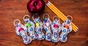 Teacher Thank You Appreciation Gift Keychain - Daisy Lane Company