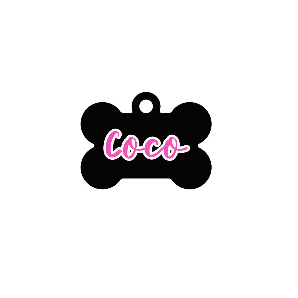 COLLAR PARA PERRO MINI BLACK KUNZITE