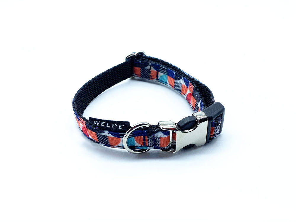 collar para perro miniatura estampado multicolor