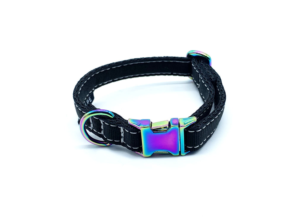 COLLAR PARA PERRO MINI BLACK MOONSTONE