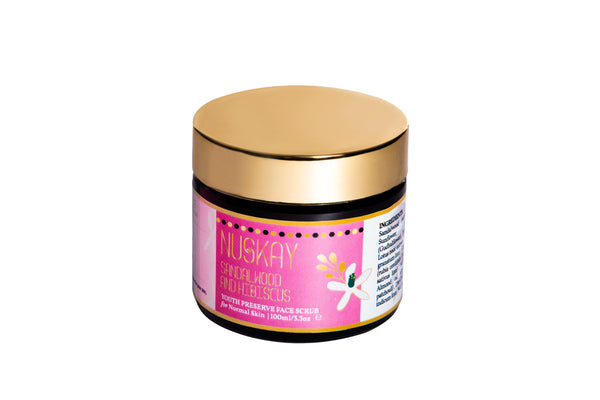 Nuskay Sandalwood and Hibiscus Scrub