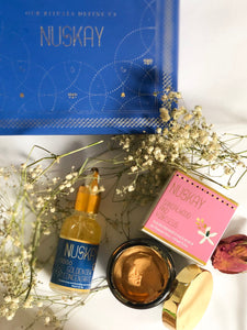 Gift Hampers by Nuskay-Scrub and Serum