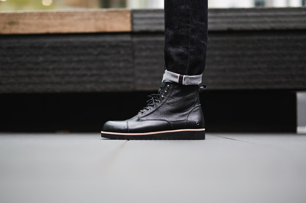 The Black Edmund Boot Editorial