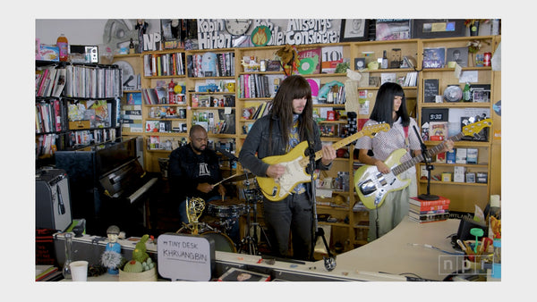 What We're Watching — Khruangbin: NPR Music Tiny Desk Concert