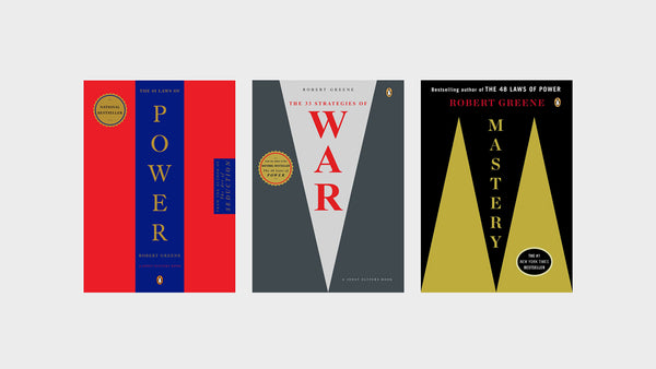 OUR TOP THREE ROBERT GREENE BOOKS