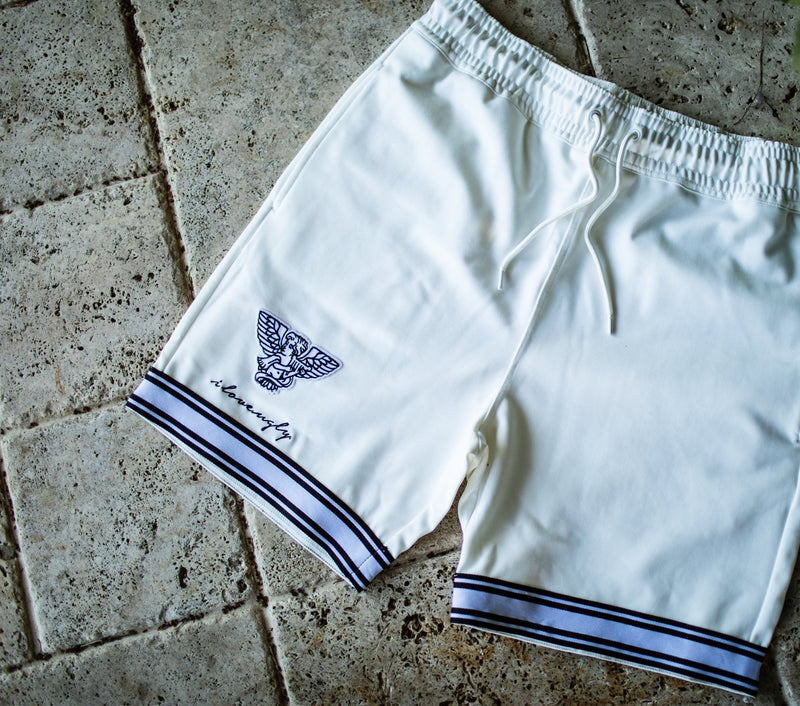 Sosa Trackie Short - Winter White