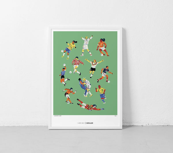 ILU x Chester Holme - Legends Print