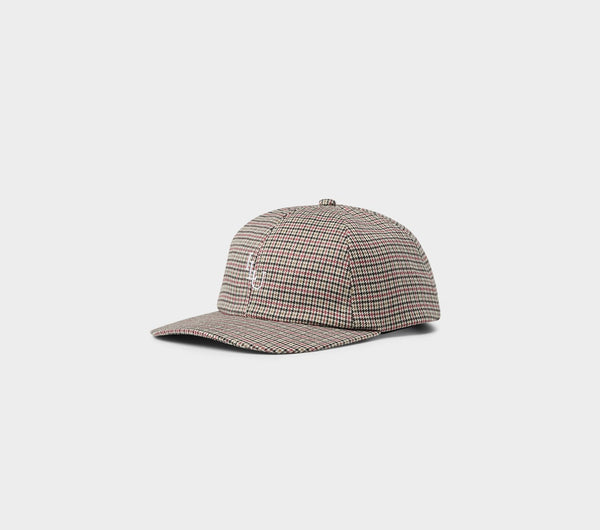 Dad Cap - Houndstooth Check