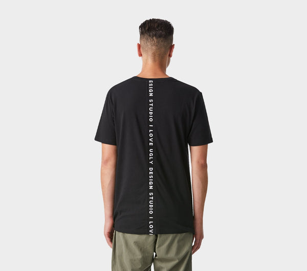 Back Logo Tee - Black