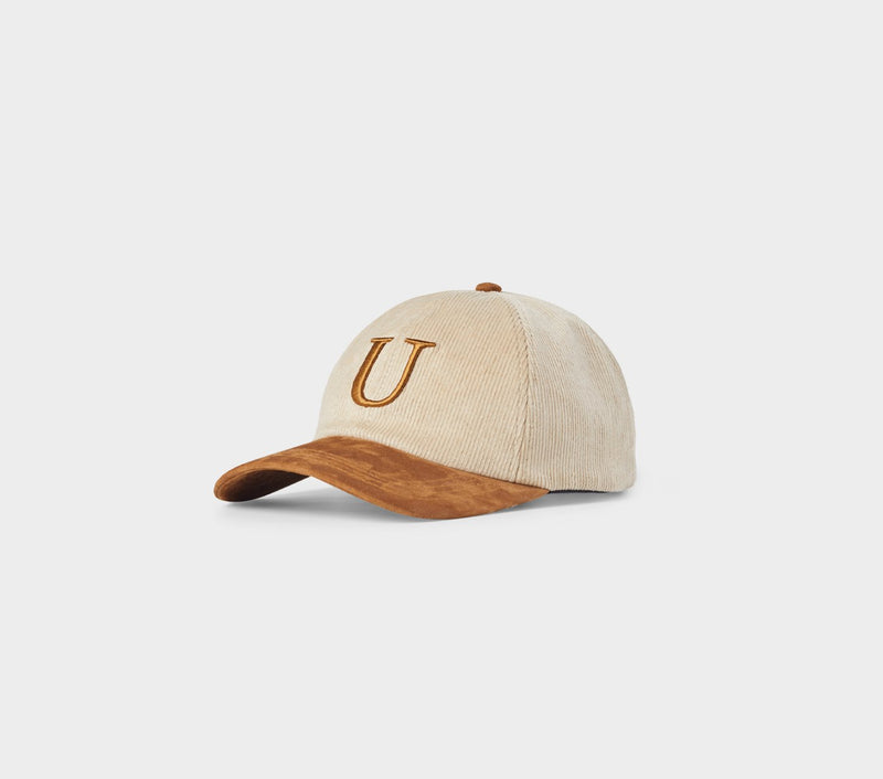 U Porter Cap - Tan/Brown Suede