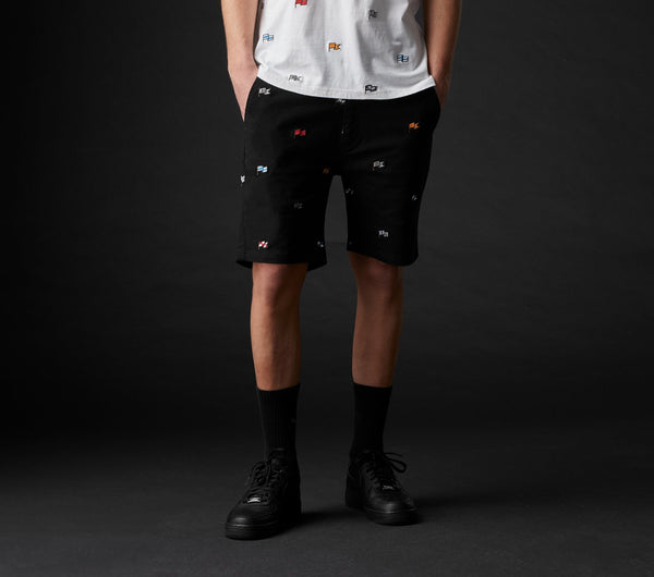Flag Jonty Short - Black