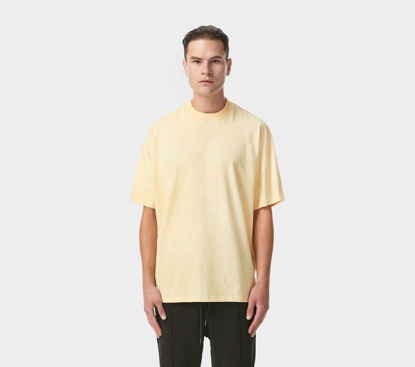 Box Fit Tee - Double Cream