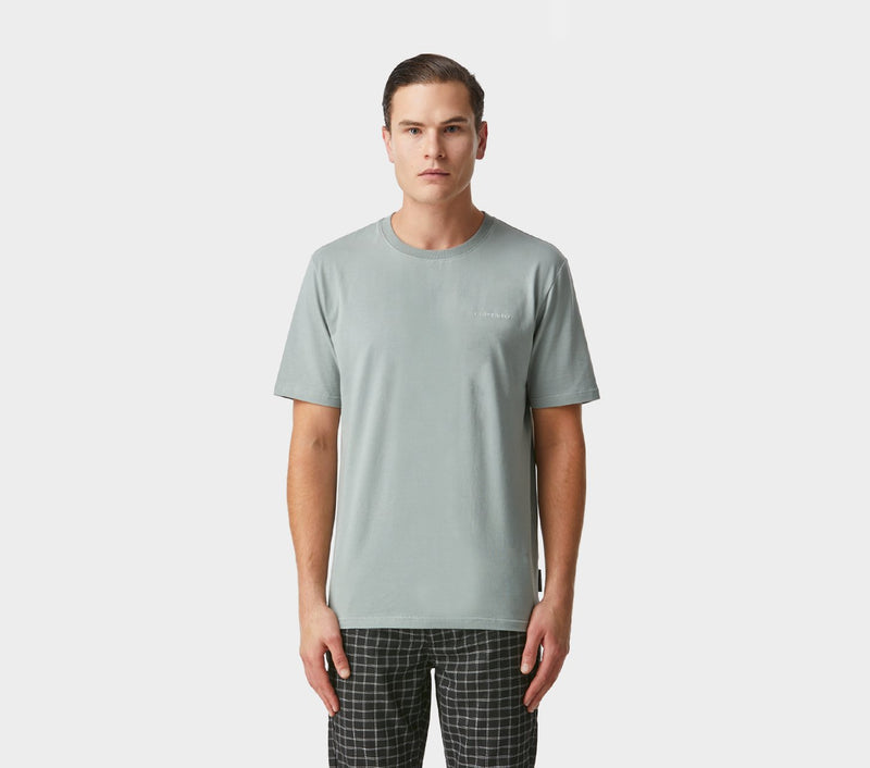 Easy Logo Tee - Foam Grey