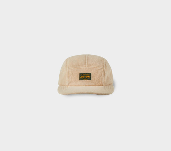 Fleece 5 Panel Cap - Beige