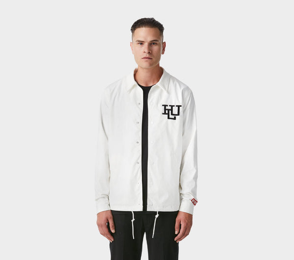 Coaches Jacket - White