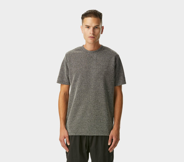 Textured Tee - Black Speckle