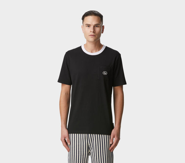 Donnie Pocket Tee - Black