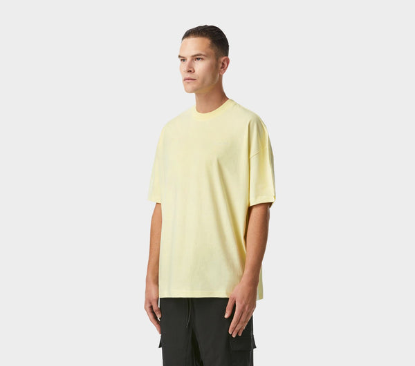 Box Fit Tee - Pastel Yellow