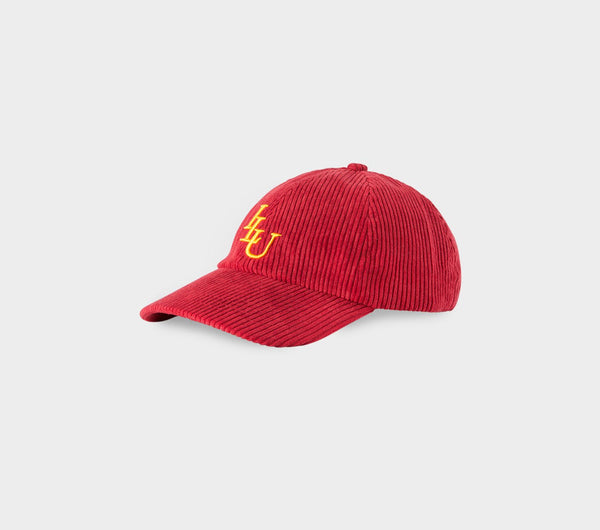 Dad Cap - Red Corduroy