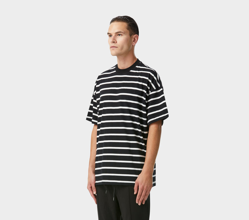 Box Fit Tee - Stripe