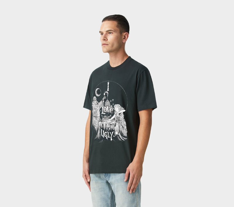 Relaxed Bad Dreams Tee - Charcoal