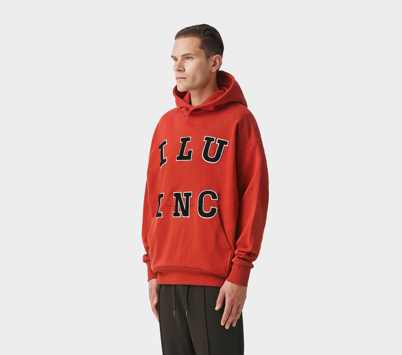 ILU Inc Box Hood - Blood Red