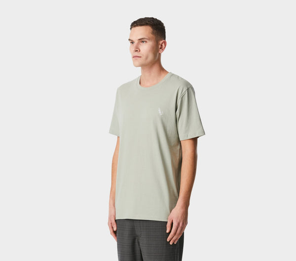 Monogram Easy Tee - Moss Green