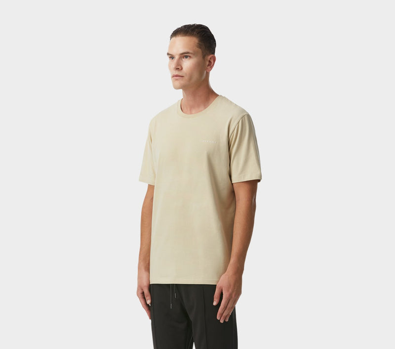 Easy Logo Tee - Tan