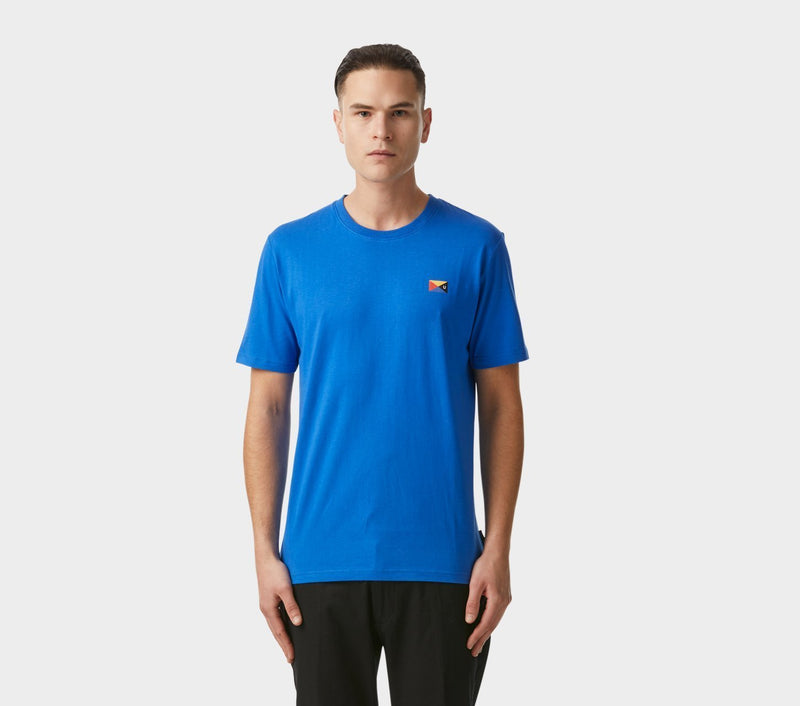 Flag Tee - Electric Blue
