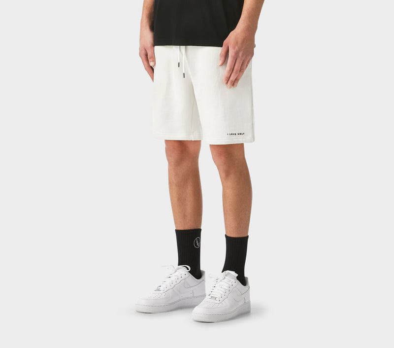 Trackie Short - Winter White