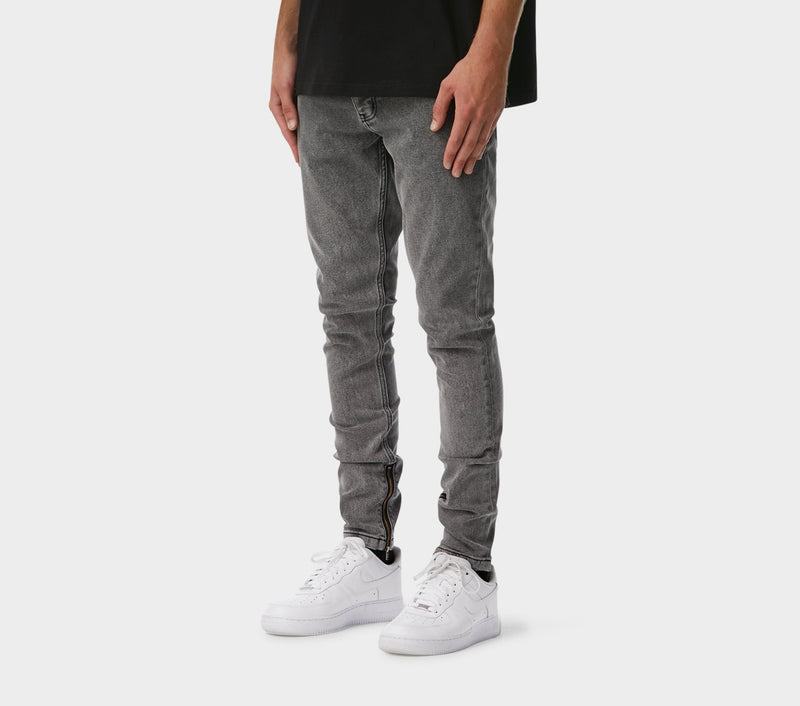 Smart Zespy Pant Denim - Grey Wash