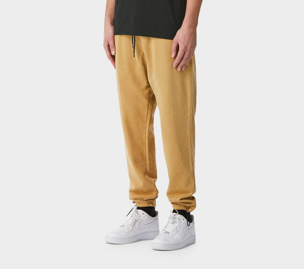 Utility Track Pants - Washed Tan