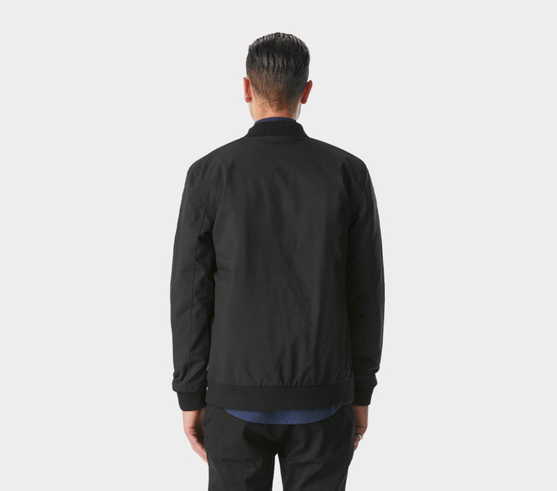 Lui Bomber Jacket - Black