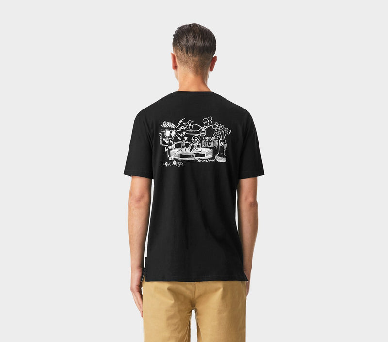 Living or Dead Tee - Black