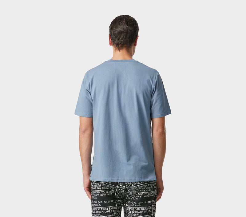 Easy Logo Tee - Smokey Blue