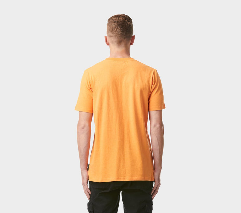 Donnie Logo Tee - Apricot