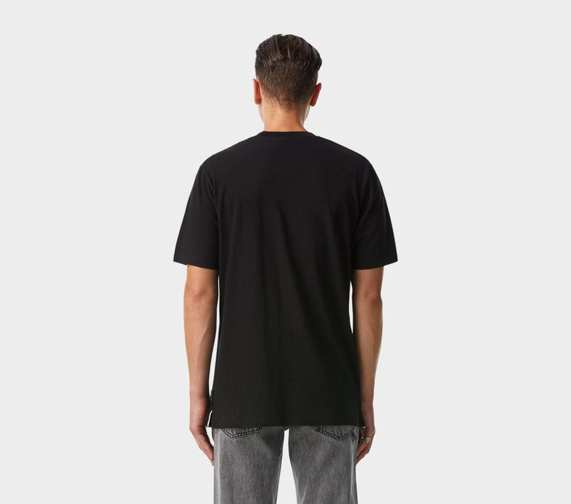 Samantha Relaxed Tee - Black