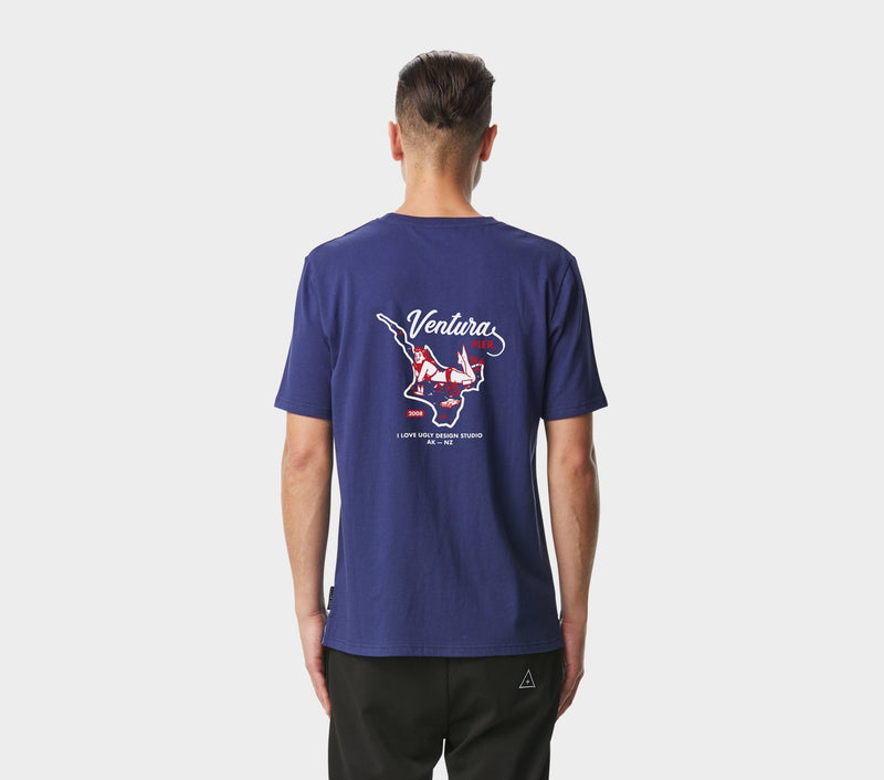Ventura Tee - French Navy