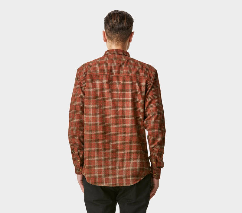 Essential Check Shirt - Scot's Red