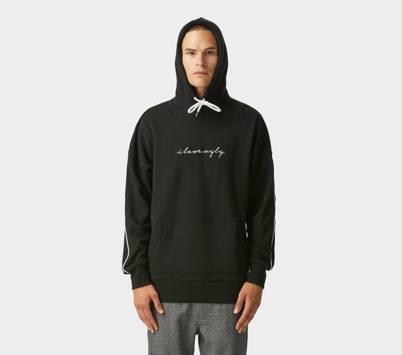 Script Wallace Hood - Black Piped