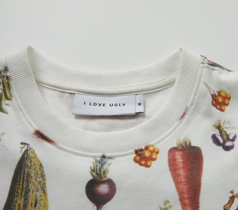 Eat Your Veggies Tee - White