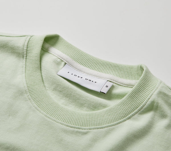 Box Fit Tee - Pastel Lime