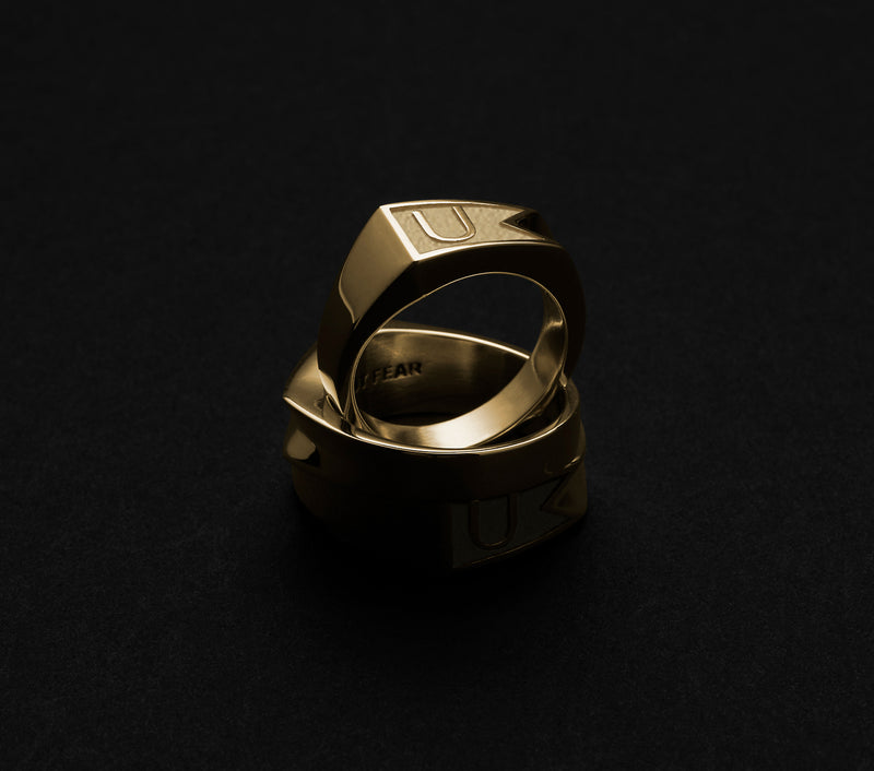 Flag Ring - Gold