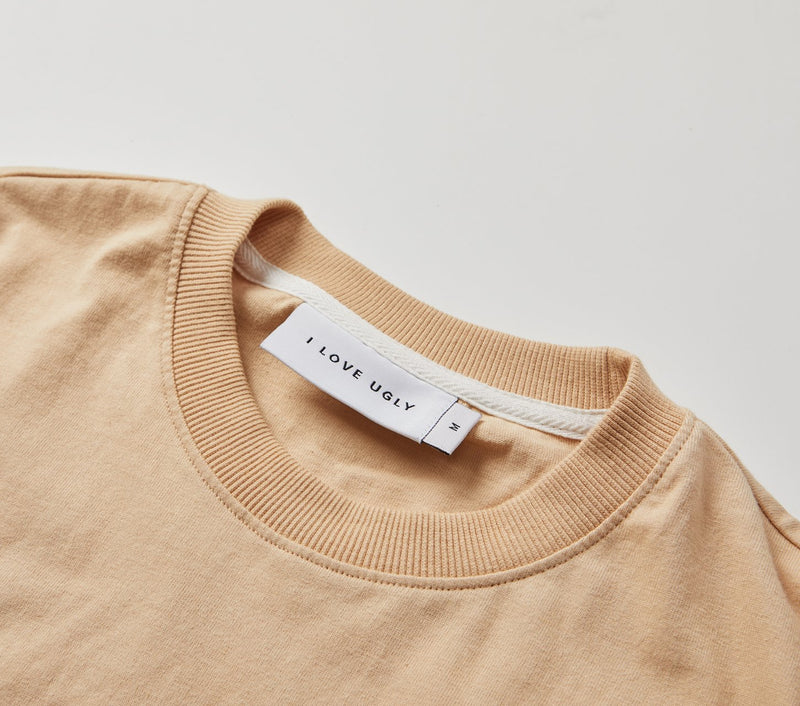 Box Fit Tee - Smokey Peach