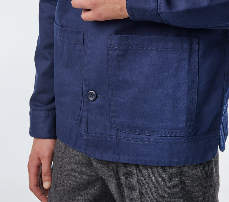 Worker's Jacket - Navy