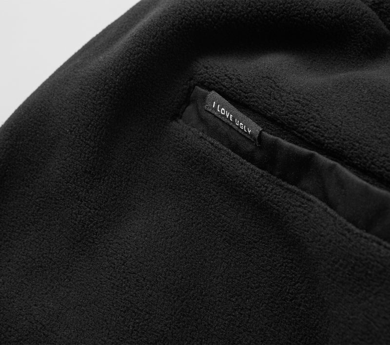 Fleece Sebastian Pant - Black