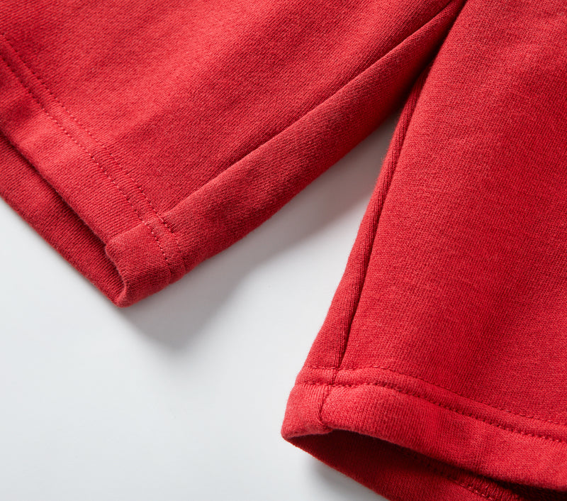 Trackie Short - Blood Red